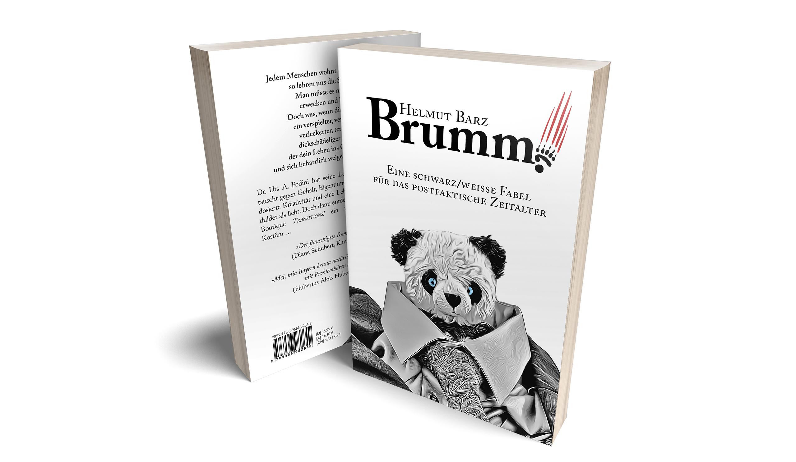 Brumm – eine schwarz/weiße Fabel für das postfaktische Zeitalter
